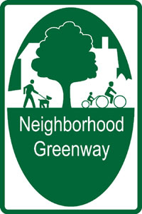 neighborhood greenway 3