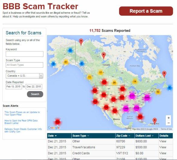 scam tracker