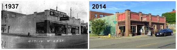 Then & Now - 418 NW 65th St - SW - II