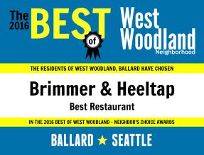2016 - Brimmer & Heeltap