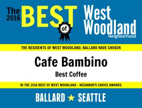 2016 - Cafe Bambino 2