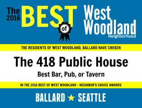 2016 - The 418 Public House