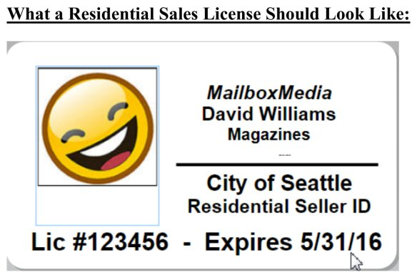 Seattle Residential Sales License Ballard West Woodland