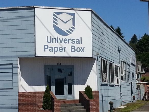 UNIVERSAL PAPER BOX