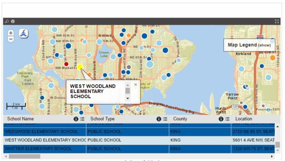 Ballard West Woodland Vaccination Rate King County