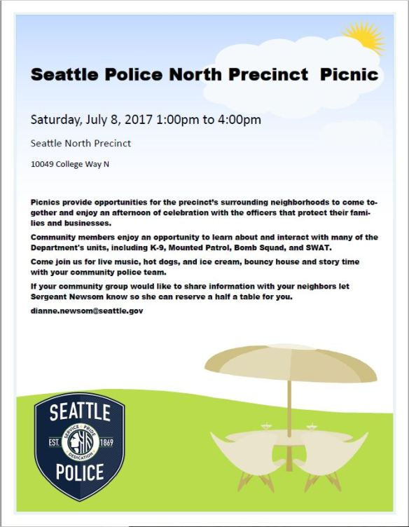 PrecinctPicnic2017 - Ballard - West Woodland