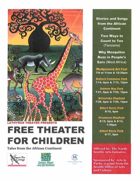 Theater For Young Children - Ballard - West Woodland