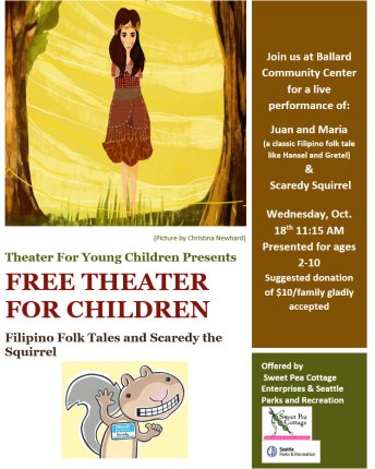 Theater For Young Children Ballard West Woodland