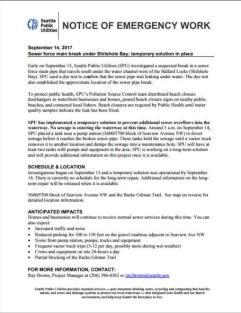 SPU - Shilshole letter
