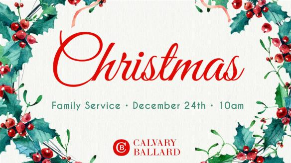 Christmas Calvary Ballard 2017 West Woodland