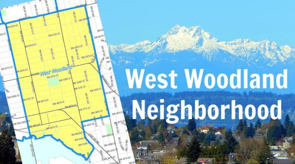 Ballard West Woodland neighborhood