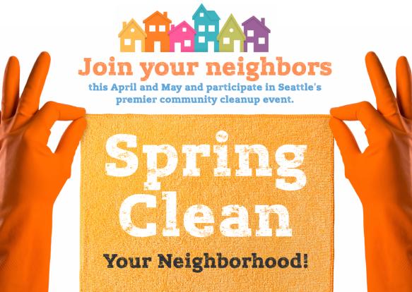 Ballard West Woodland Spring Clean